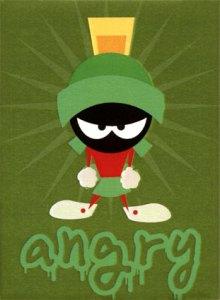 angry martian