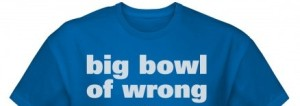 bowl of wrong